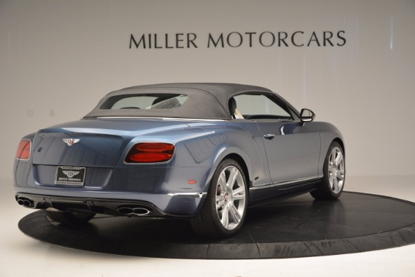 Used 2014 Bentley Continental GT V8 S Convertible for sale Sold at Bentley Greenwich in Greenwich CT 06830 18