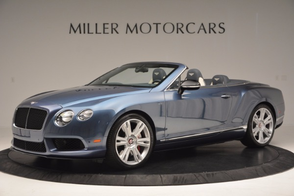 Used 2014 Bentley Continental GT V8 S Convertible for sale Sold at Bentley Greenwich in Greenwich CT 06830 2