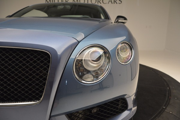 Used 2014 Bentley Continental GT V8 S Convertible for sale Sold at Bentley Greenwich in Greenwich CT 06830 23