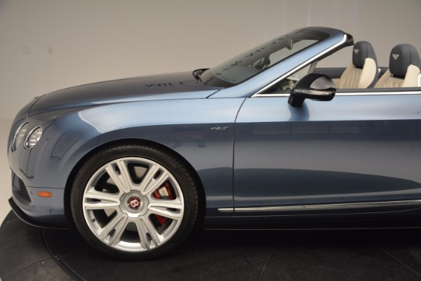 Used 2014 Bentley Continental GT V8 S Convertible for sale Sold at Bentley Greenwich in Greenwich CT 06830 26