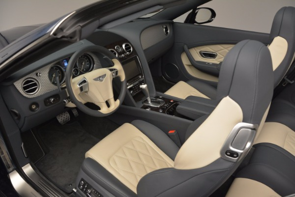 Used 2014 Bentley Continental GT V8 S Convertible for sale Sold at Bentley Greenwich in Greenwich CT 06830 28