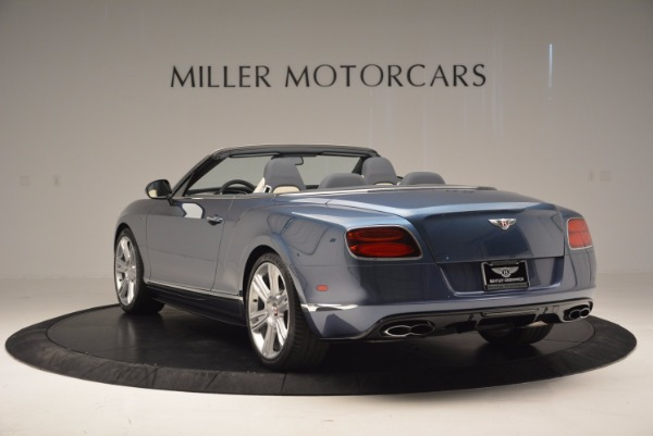 Used 2014 Bentley Continental GT V8 S Convertible for sale Sold at Bentley Greenwich in Greenwich CT 06830 5