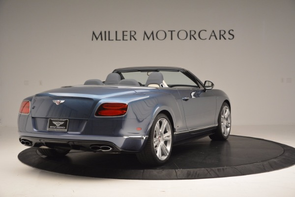 Used 2014 Bentley Continental GT V8 S Convertible for sale Sold at Bentley Greenwich in Greenwich CT 06830 7