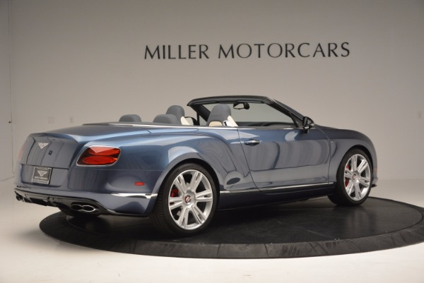 Used 2014 Bentley Continental GT V8 S Convertible for sale Sold at Bentley Greenwich in Greenwich CT 06830 8