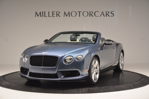 Used 2014 Bentley Continental GT V8 S Convertible for sale Sold at Bentley Greenwich in Greenwich CT 06830 1