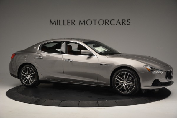 Used 2017 Maserati Ghibli S Q4 EX-LOANER for sale Sold at Bentley Greenwich in Greenwich CT 06830 10