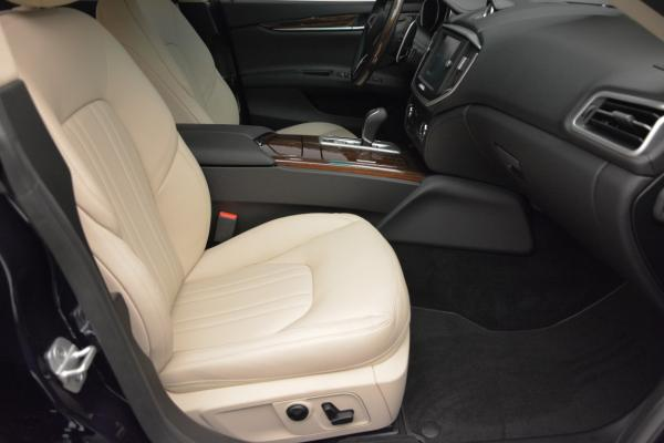New 2016 Maserati Ghibli S Q4 for sale Sold at Bentley Greenwich in Greenwich CT 06830 21