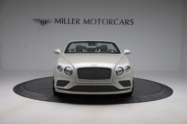 Used 2016 Bentley Continental GTC Speed for sale $149,900 at Bentley Greenwich in Greenwich CT 06830 13