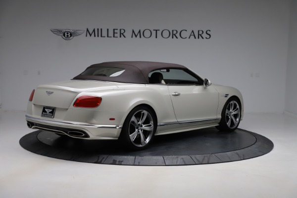 Used 2016 Bentley Continental GTC Speed for sale $149,900 at Bentley Greenwich in Greenwich CT 06830 18