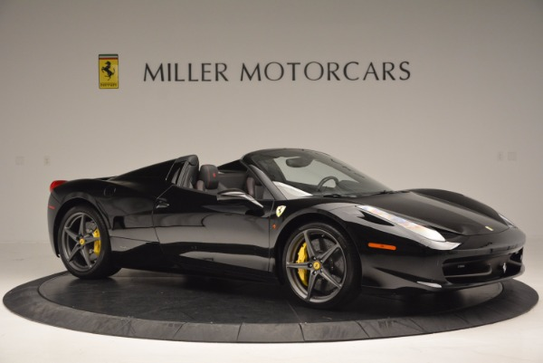 Used 2014 Ferrari 458 Spider for sale Sold at Bentley Greenwich in Greenwich CT 06830 10