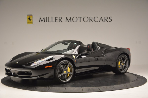 Used 2014 Ferrari 458 Spider for sale Sold at Bentley Greenwich in Greenwich CT 06830 2