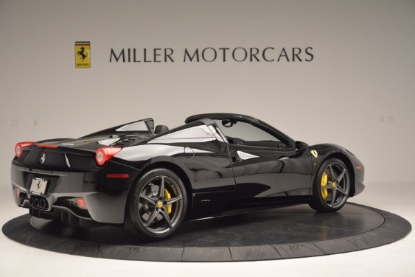 Used 2014 Ferrari 458 Spider for sale Sold at Bentley Greenwich in Greenwich CT 06830 8