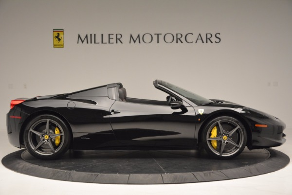 Used 2014 Ferrari 458 Spider for sale Sold at Bentley Greenwich in Greenwich CT 06830 9