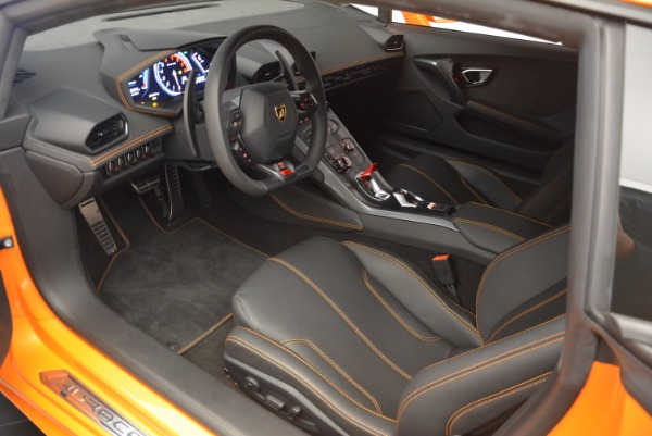 Used 2015 Lamborghini Huracan LP 610-4 for sale Sold at Bentley Greenwich in Greenwich CT 06830 13