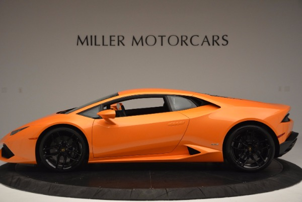 Used 2015 Lamborghini Huracan LP 610-4 for sale Sold at Bentley Greenwich in Greenwich CT 06830 3