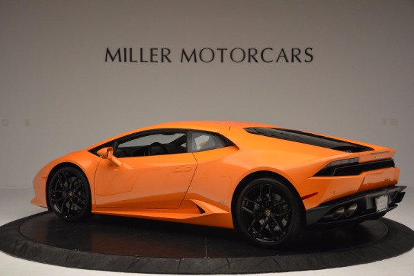 Used 2015 Lamborghini Huracan LP 610-4 for sale Sold at Bentley Greenwich in Greenwich CT 06830 4