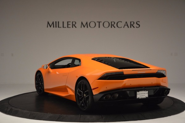 Used 2015 Lamborghini Huracan LP 610-4 for sale Sold at Bentley Greenwich in Greenwich CT 06830 5