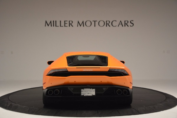 Used 2015 Lamborghini Huracan LP 610-4 for sale Sold at Bentley Greenwich in Greenwich CT 06830 6