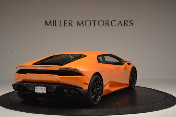 Used 2015 Lamborghini Huracan LP 610-4 for sale Sold at Bentley Greenwich in Greenwich CT 06830 7