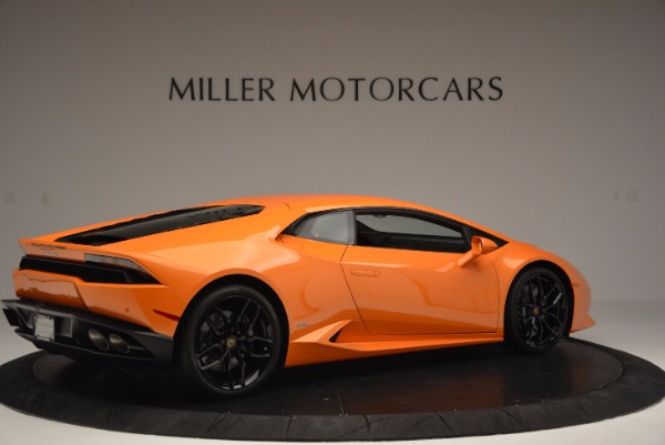 Used 2015 Lamborghini Huracan LP 610-4 for sale Sold at Bentley Greenwich in Greenwich CT 06830 8