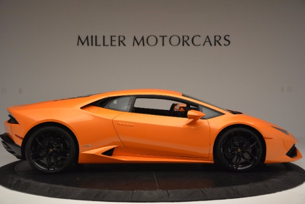 Used 2015 Lamborghini Huracan LP 610-4 for sale Sold at Bentley Greenwich in Greenwich CT 06830 9