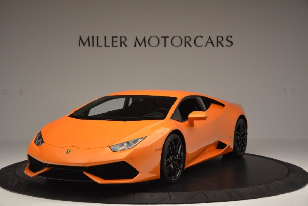 Used 2015 Lamborghini Huracan LP 610-4 for sale Sold at Bentley Greenwich in Greenwich CT 06830 1