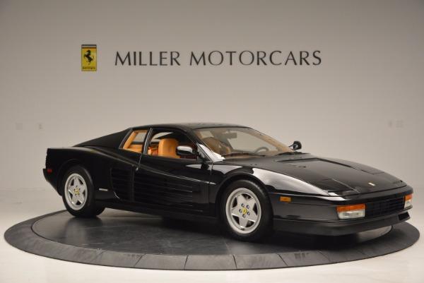 Used 1989 Ferrari Testarossa for sale Sold at Bentley Greenwich in Greenwich CT 06830 10