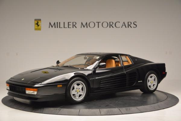 Used 1989 Ferrari Testarossa for sale Sold at Bentley Greenwich in Greenwich CT 06830 2