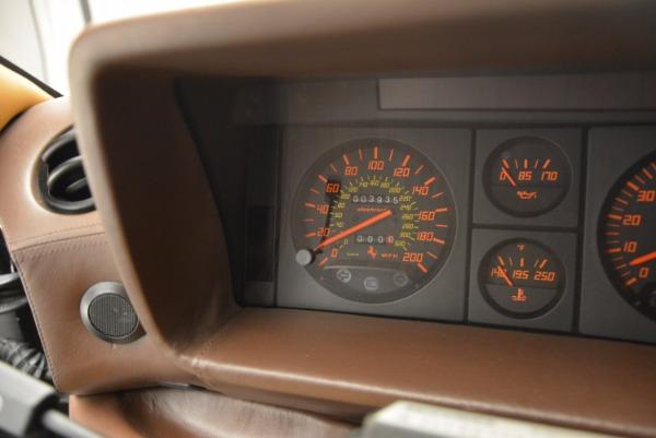 Used 1989 Ferrari Testarossa for sale Sold at Bentley Greenwich in Greenwich CT 06830 20