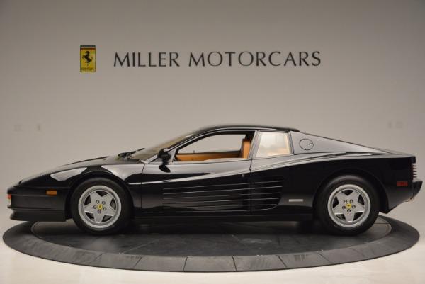Used 1989 Ferrari Testarossa for sale Sold at Bentley Greenwich in Greenwich CT 06830 3