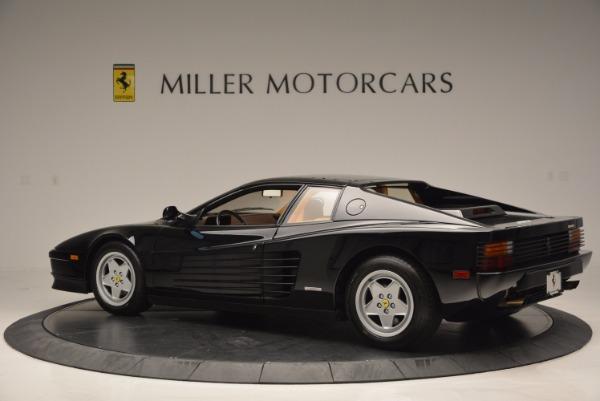Used 1989 Ferrari Testarossa for sale Sold at Bentley Greenwich in Greenwich CT 06830 4