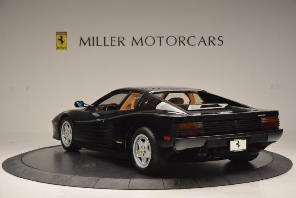 Used 1989 Ferrari Testarossa for sale Sold at Bentley Greenwich in Greenwich CT 06830 5