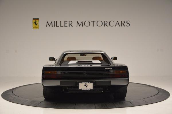 Used 1989 Ferrari Testarossa for sale Sold at Bentley Greenwich in Greenwich CT 06830 6