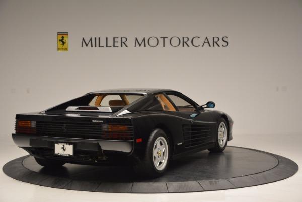 Used 1989 Ferrari Testarossa for sale Sold at Bentley Greenwich in Greenwich CT 06830 7