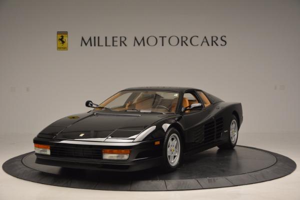 Used 1989 Ferrari Testarossa for sale Sold at Bentley Greenwich in Greenwich CT 06830 1