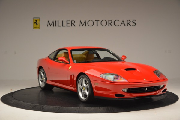 Used 2000 Ferrari 550 Maranello for sale Sold at Bentley Greenwich in Greenwich CT 06830 11