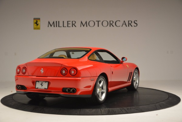 Used 2000 Ferrari 550 Maranello for sale Sold at Bentley Greenwich in Greenwich CT 06830 7
