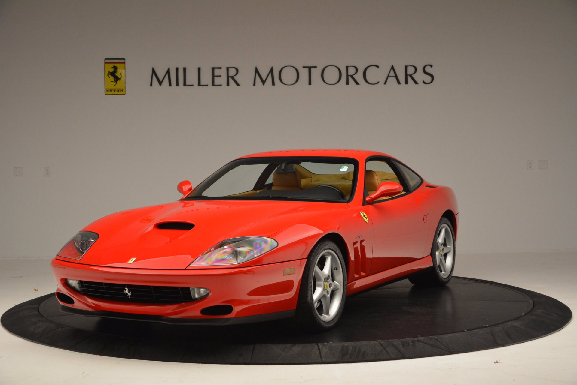 Used 2000 Ferrari 550 Maranello for sale Sold at Bentley Greenwich in Greenwich CT 06830 1