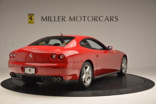 Used 2005 Ferrari 612 Scaglietti for sale Sold at Bentley Greenwich in Greenwich CT 06830 7