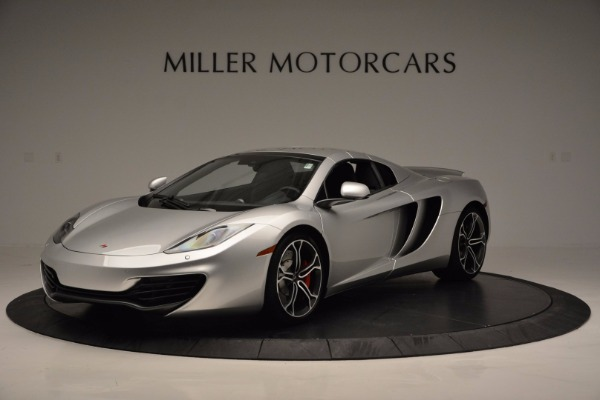 Used 2014 McLaren MP4-12C Spider for sale Sold at Bentley Greenwich in Greenwich CT 06830 15