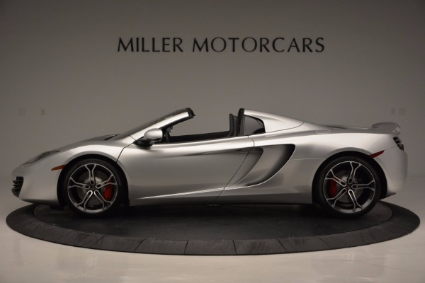 Used 2014 McLaren MP4-12C Spider for sale Sold at Bentley Greenwich in Greenwich CT 06830 3