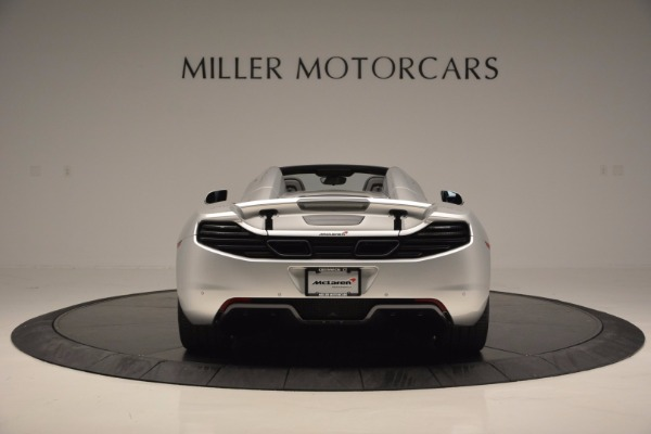 Used 2014 McLaren MP4-12C Spider for sale Sold at Bentley Greenwich in Greenwich CT 06830 6