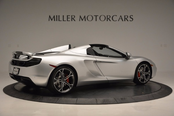 Used 2014 McLaren MP4-12C Spider for sale Sold at Bentley Greenwich in Greenwich CT 06830 8