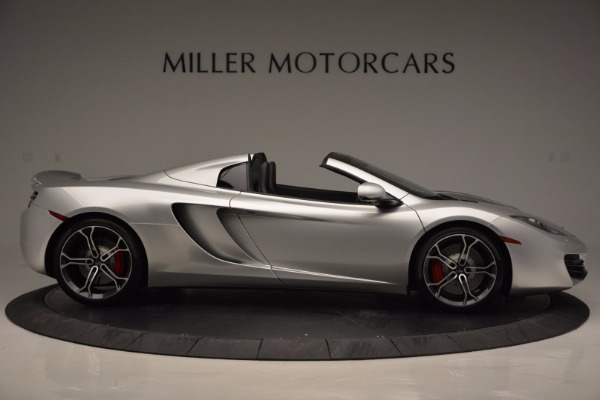 Used 2014 McLaren MP4-12C Spider for sale Sold at Bentley Greenwich in Greenwich CT 06830 9