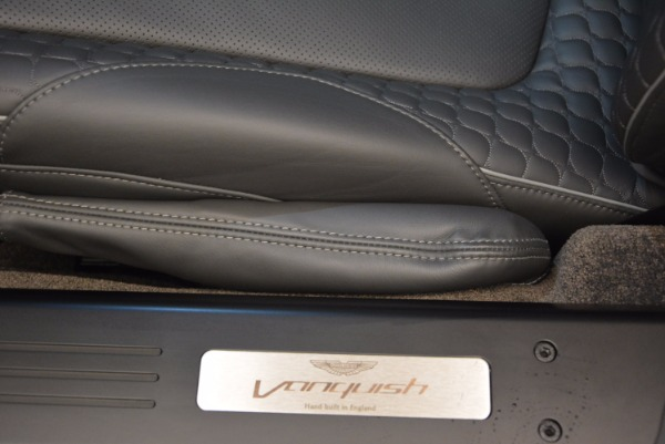 Used 2017 Aston Martin Vanquish Coupe for sale Sold at Bentley Greenwich in Greenwich CT 06830 21