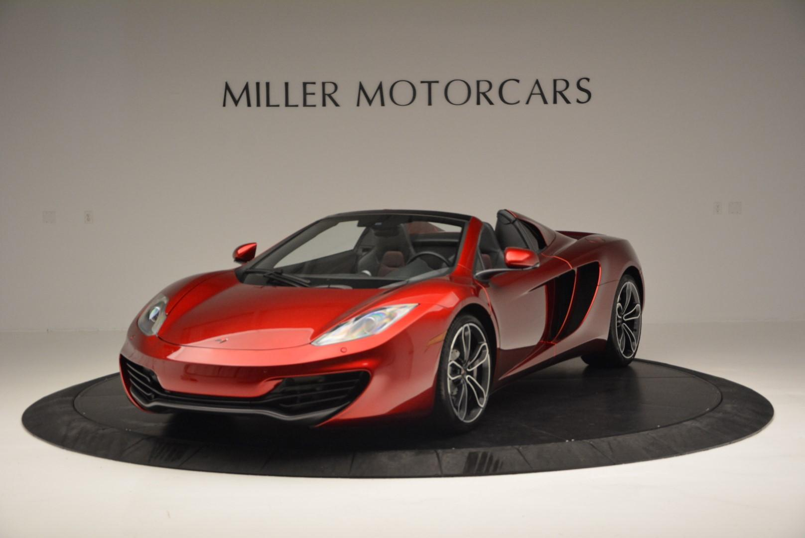 Used 2013 McLaren MP4-12C Base for sale Sold at Bentley Greenwich in Greenwich CT 06830 1