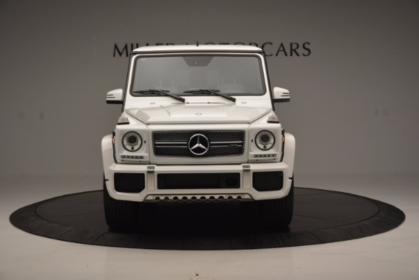 Used 2016 Mercedes Benz G-Class AMG G65 for sale Sold at Bentley Greenwich in Greenwich CT 06830 12