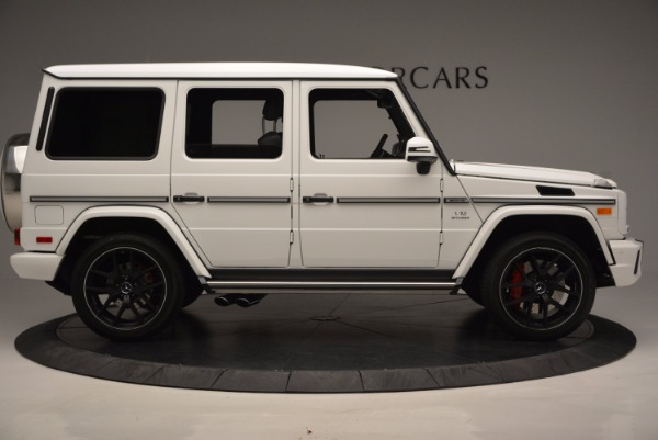 Used 2016 Mercedes Benz G-Class AMG G65 for sale Sold at Bentley Greenwich in Greenwich CT 06830 9
