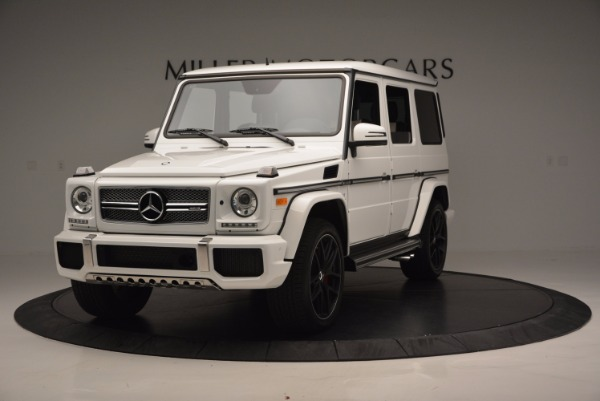 Used 2016 Mercedes Benz G-Class AMG G65 for sale Sold at Bentley Greenwich in Greenwich CT 06830 1