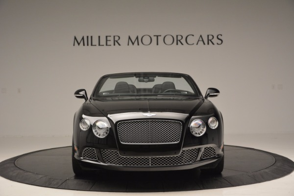 Used 2013 Bentley Continental GTC for sale Sold at Bentley Greenwich in Greenwich CT 06830 3
